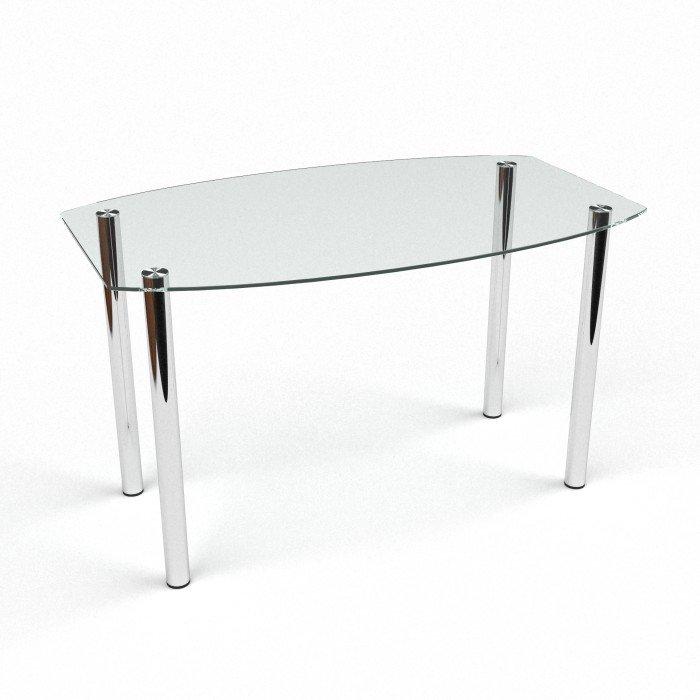 стеклянный столик на кухню прозрачный