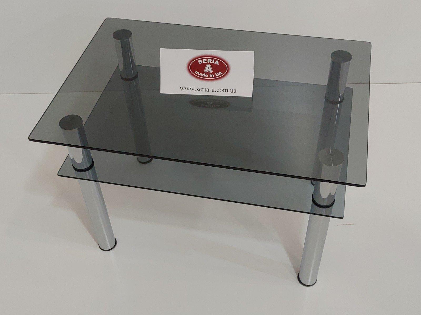 журнальный столик темное стекло